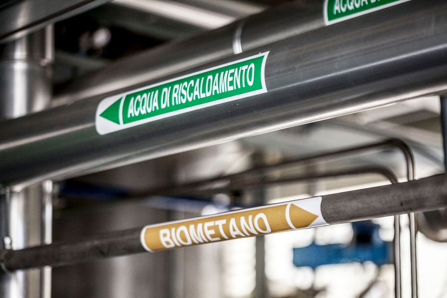 Hysytech - New biomethane plant from the collaboration betw